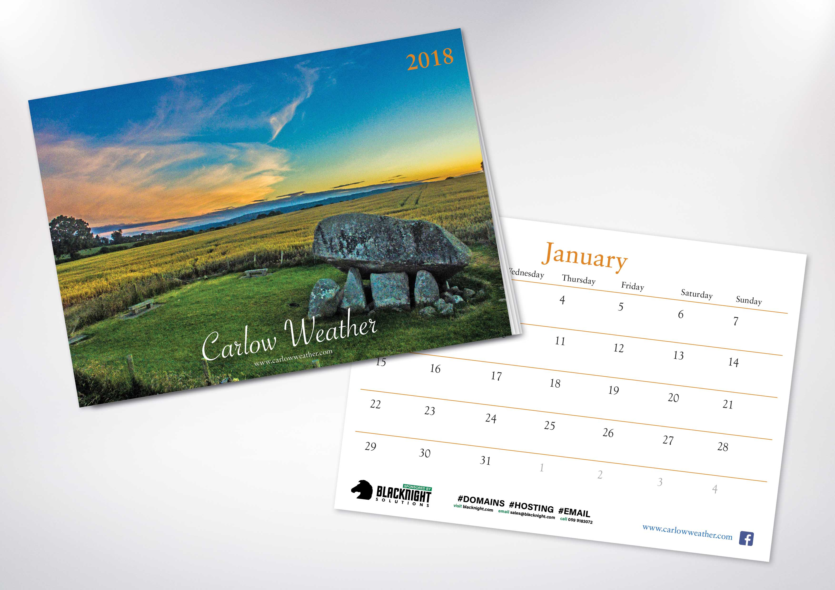 13. Carlow Weather Calendar