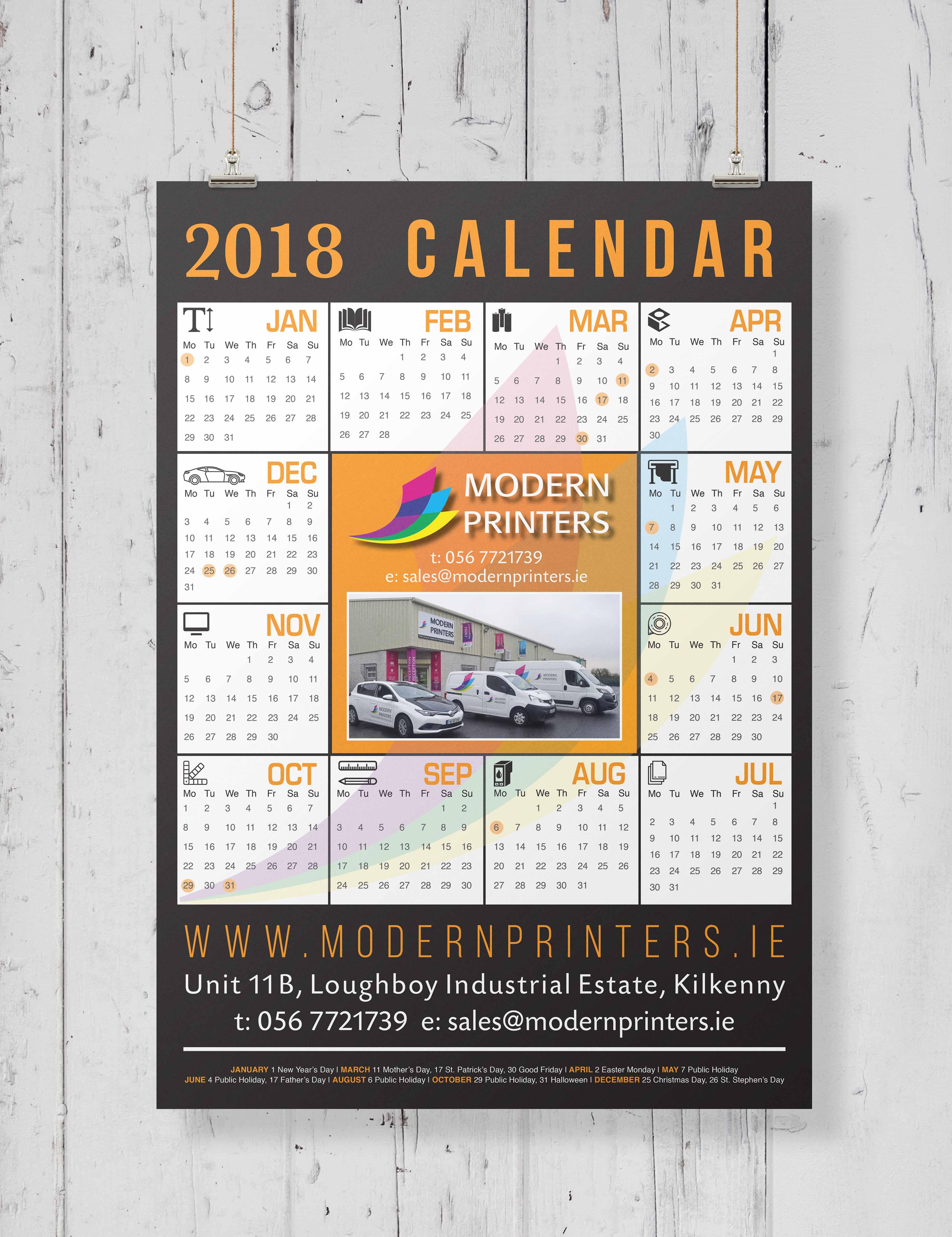 13. MP Calendar