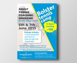 Bolster Tennis Camp