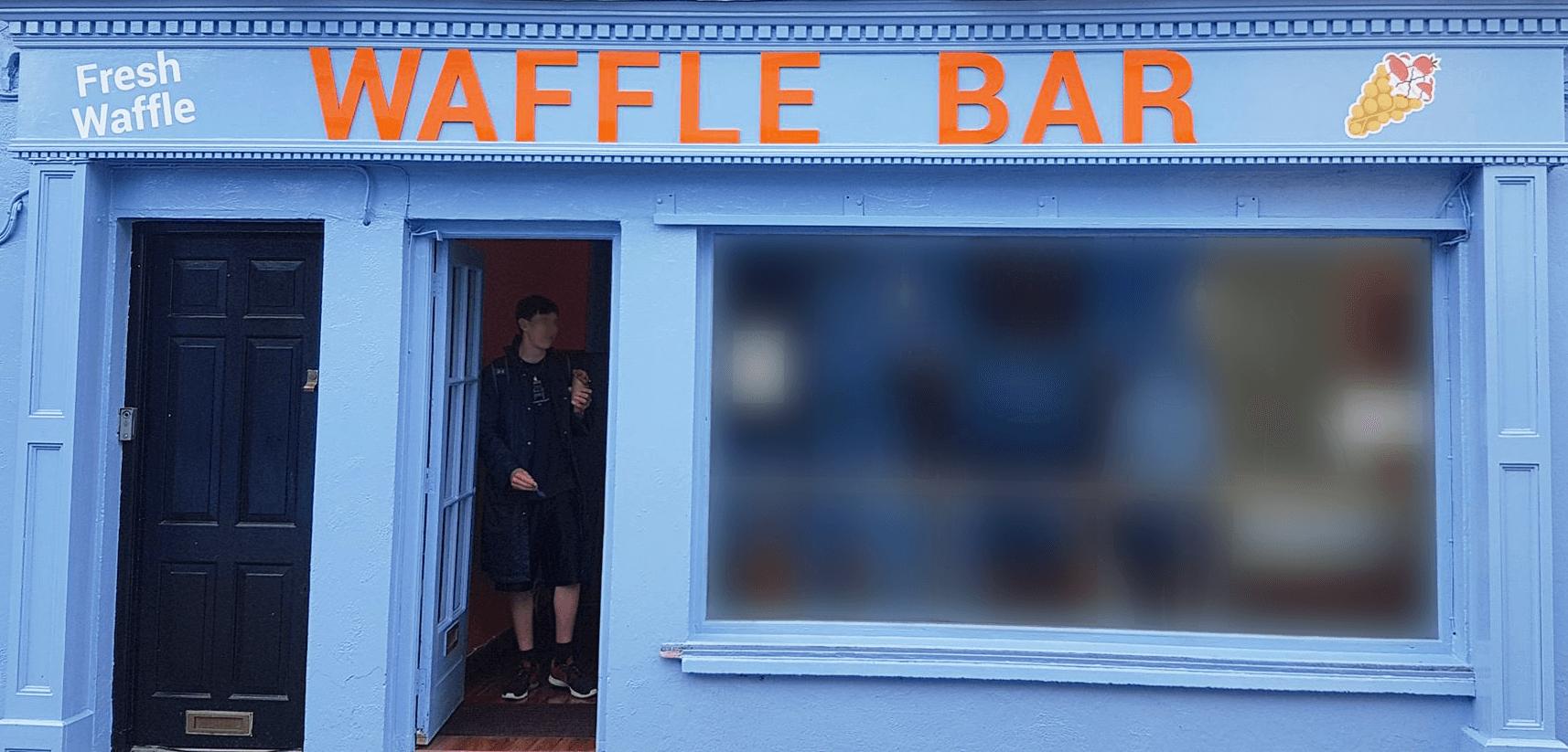 1. Waffle Bar
